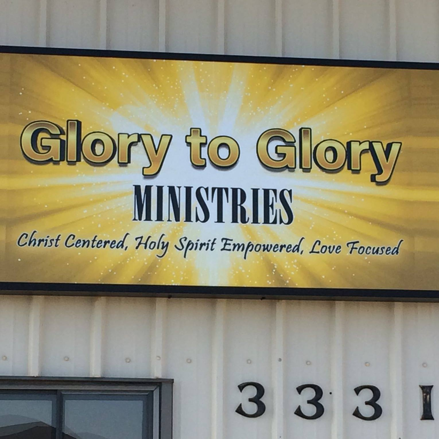 Glory to Glory Ministries