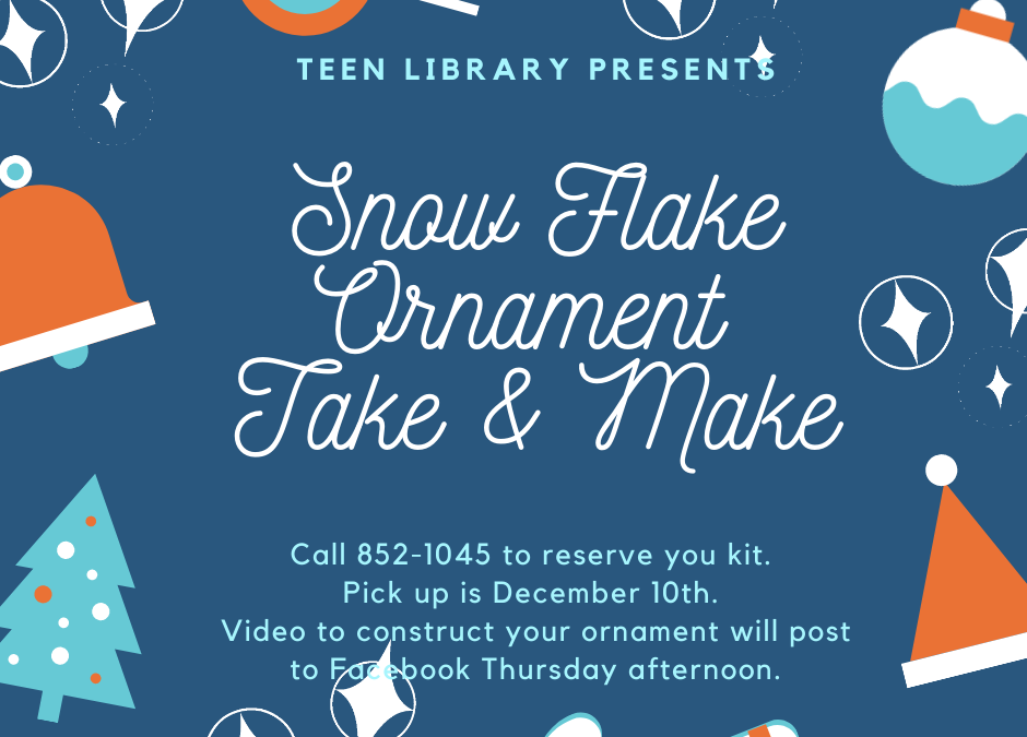 Snowflake Ornament Take & Make