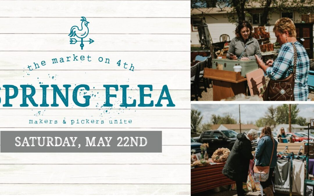 Spring Flea at The Market on 4th