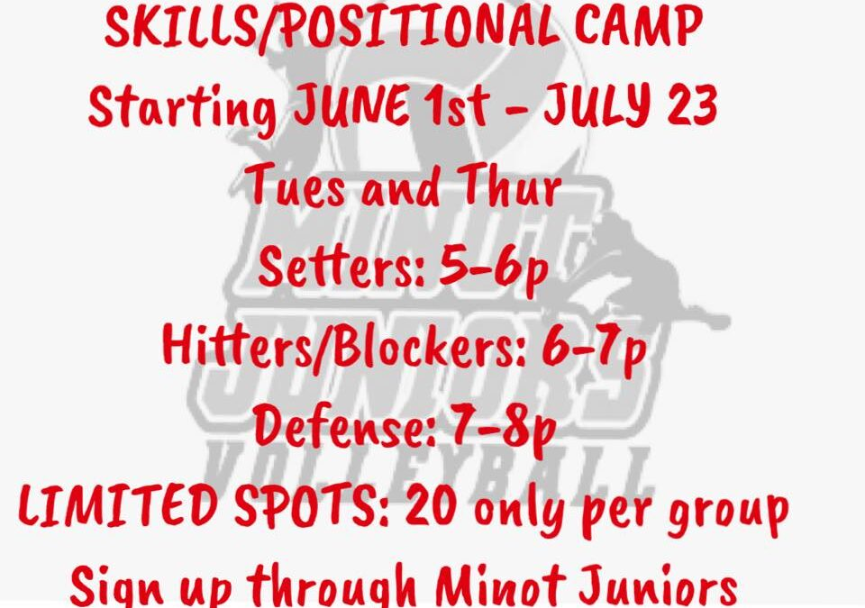 Volleyball Position Work Summer Sessions