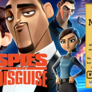 """""""Spies in Disguise"""" Movie Matinee"""