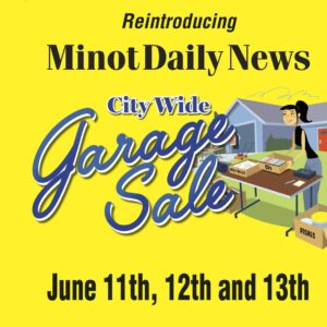 Minot Daily News hosts Minot City Wide Garage Sale