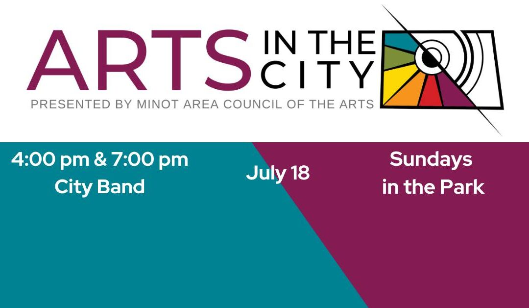 Sundays in the Park with the Minot City Band