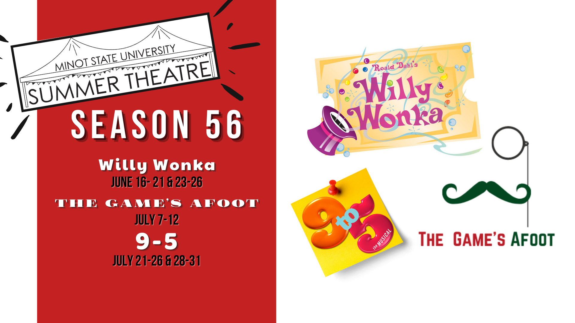 """MSU Summer Theatre's Production of """"9-5"""""""