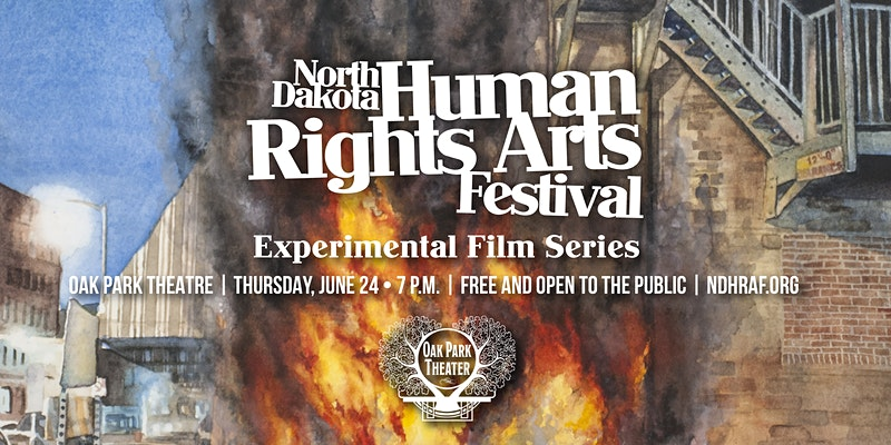 Experimental and animated film presentations from the North Dakota Human Rights Arts Festival