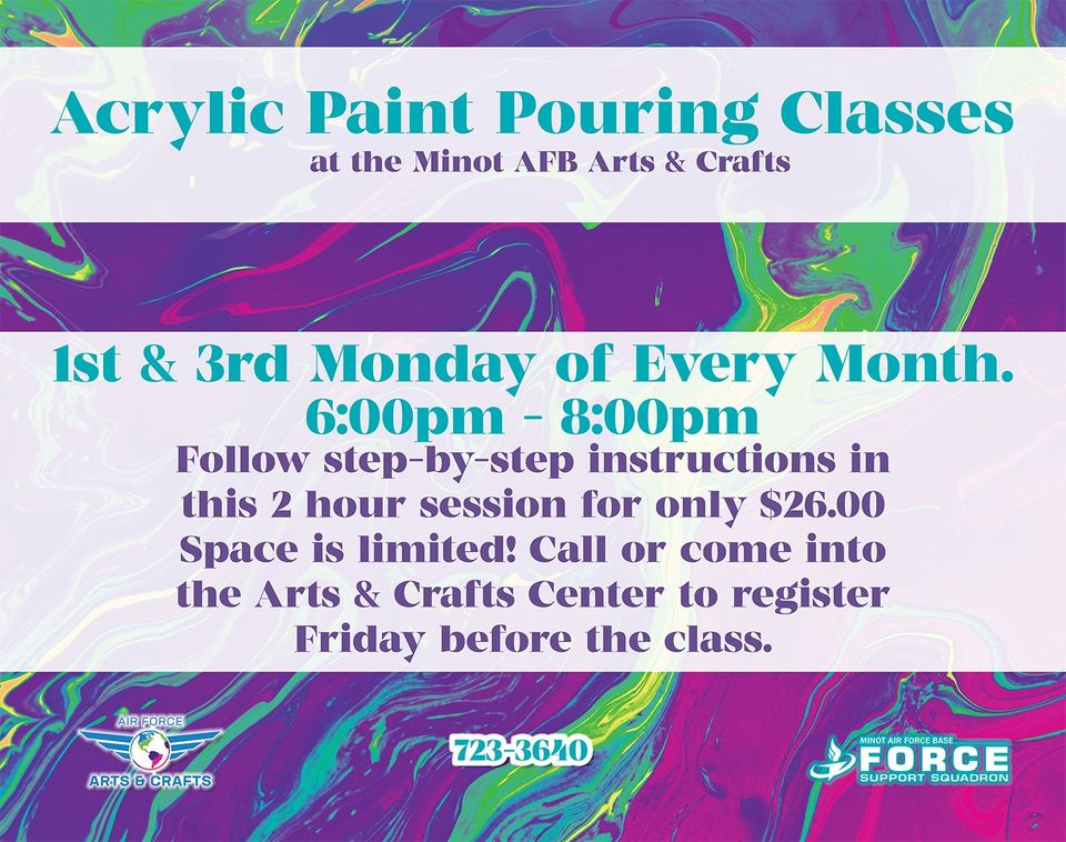 Acrylic Paint Pouring Class