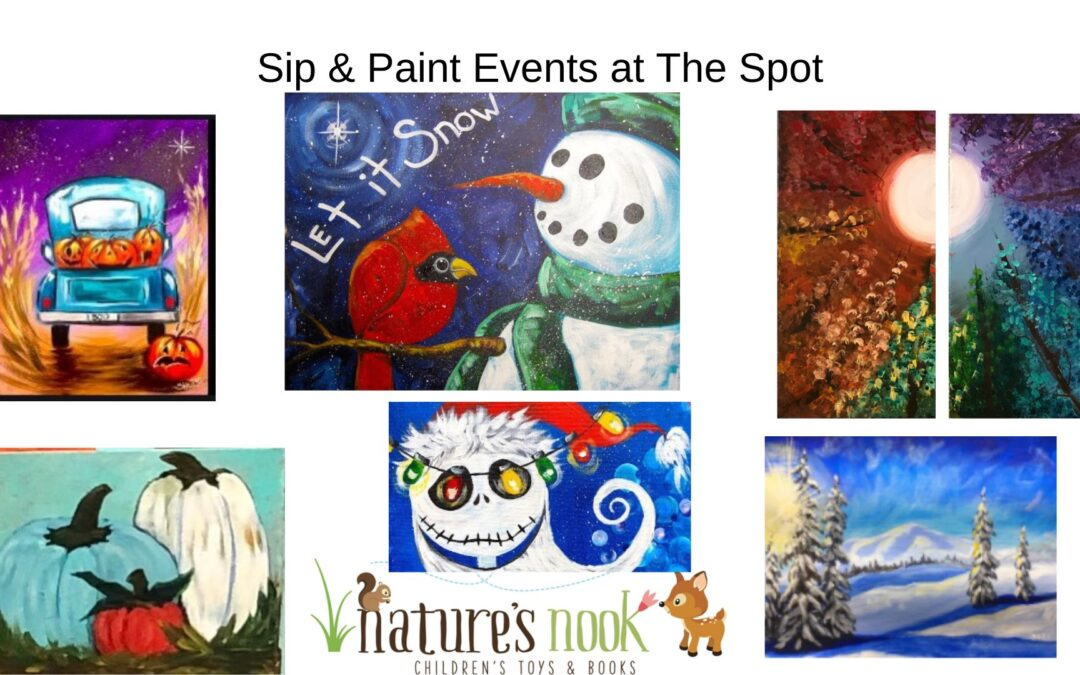 Sip & Paint Events at The Spot